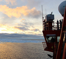 BAMS Paper Highlights Initial ARM Southern Ocean Campaign Results