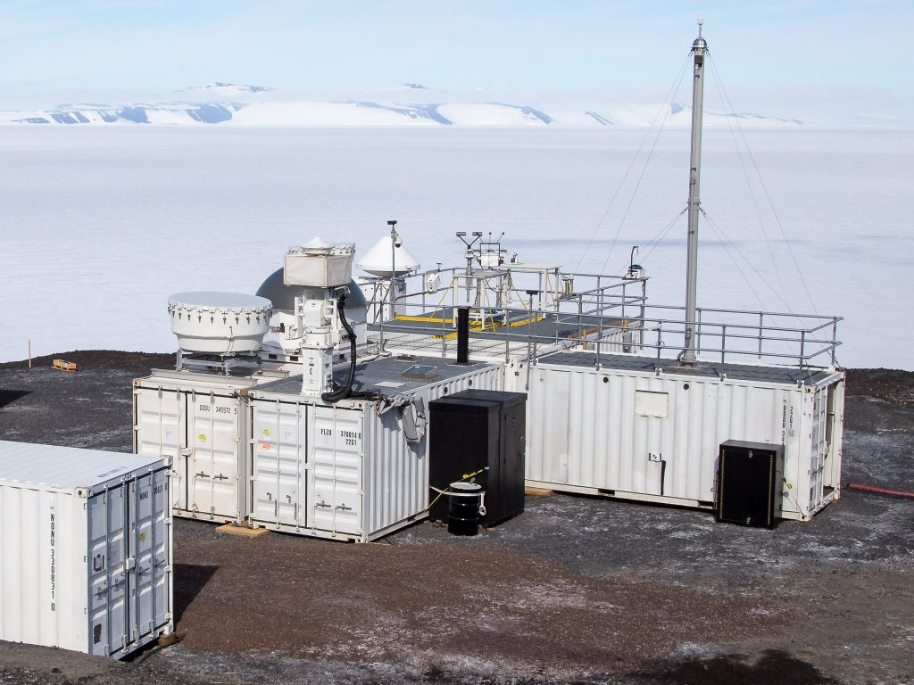 Second ARM Mobile Facility during AWARE field campaign in Antarctica