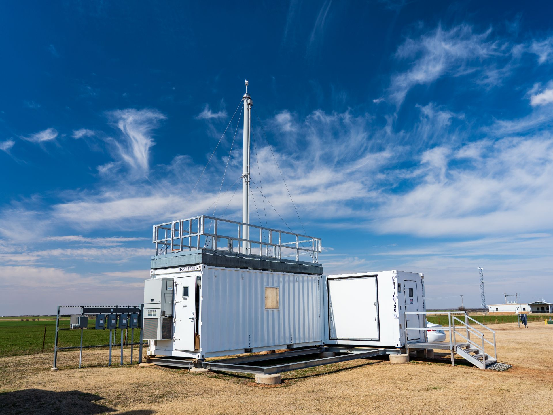 Aerosol Observing System at ARM's Southern Great Plains atmospheric observatory